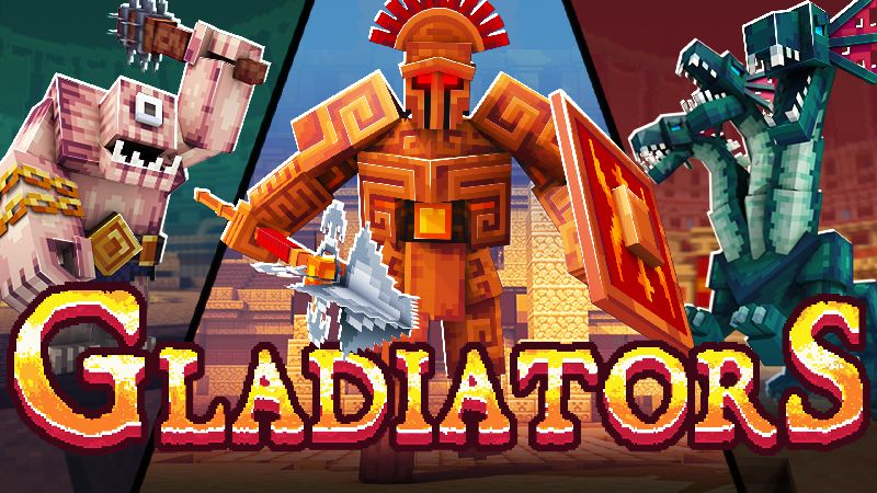 Gladiators on the Minecraft Marketplace by Shapescape