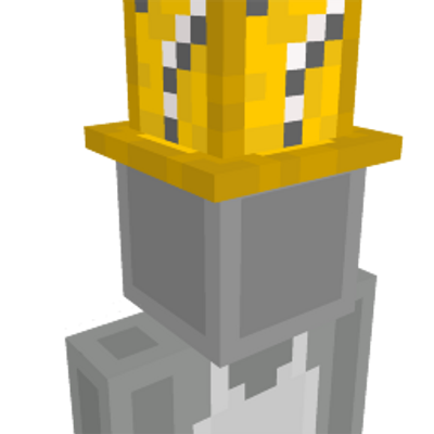 Lucky Block Hat on the Minecraft Marketplace by stonemasons