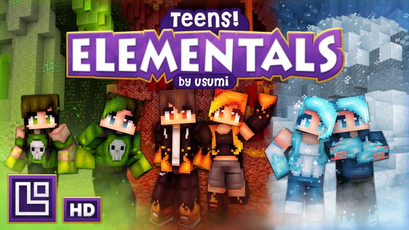 Teens Elementals HD on the Minecraft Marketplace by Pixel Squared