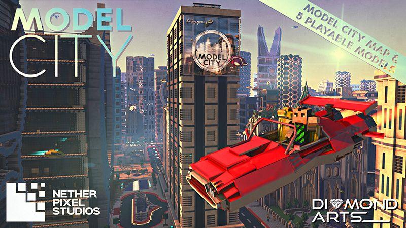 Model City on the Minecraft Marketplace by Netherpixel