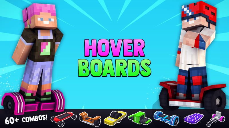 Hoverboards on the Minecraft Marketplace by BLOCKLAB Studios