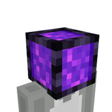 Nether Portal Head on the Minecraft Marketplace by Magefall