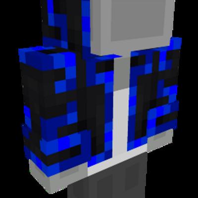 Party Blue Jacket on the Minecraft Marketplace by Pixels & Blocks