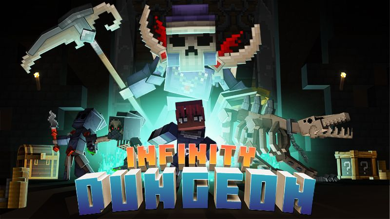 Infinity Dungeon on the Minecraft Marketplace by Mythicus