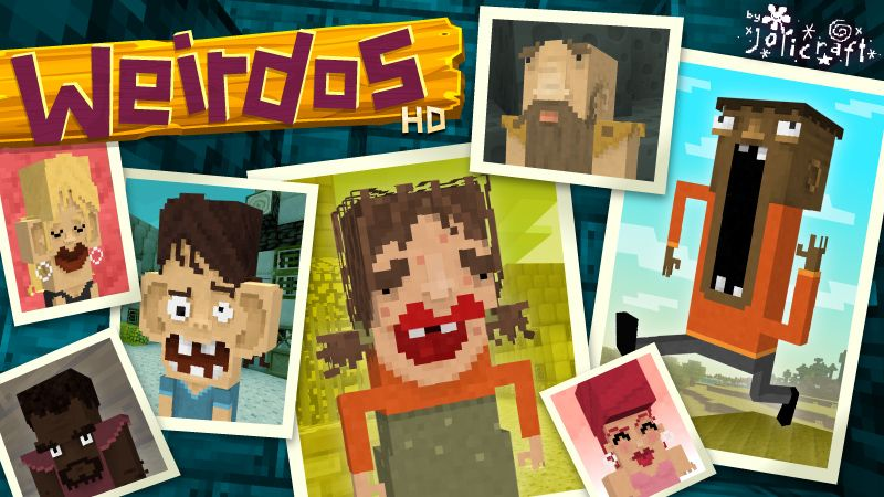 Jolicrafts Weirdos HD on the Minecraft Marketplace by Jolicraft