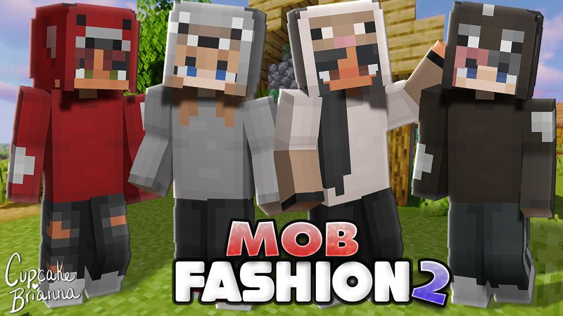 Mob Fashion 2 Skin Pack on the Minecraft Marketplace by CupcakeBrianna