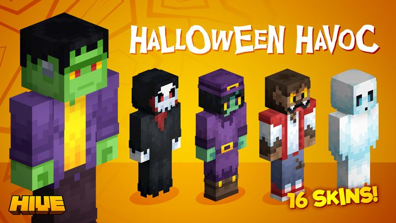 Halloween Havoc on the Minecraft Marketplace by The Hive