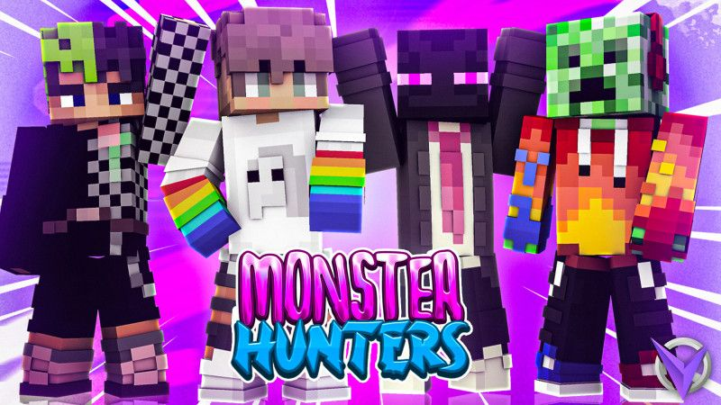 Monster Hunters on the Minecraft Marketplace by Team Visionary