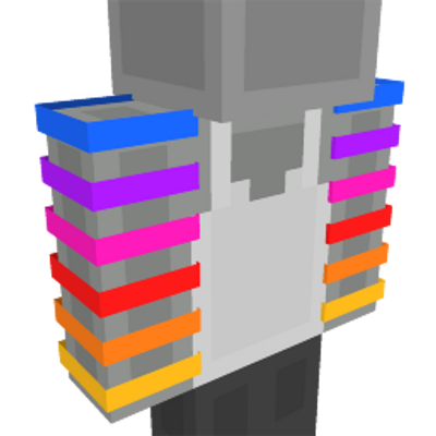 Rainbow Arms on the Minecraft Marketplace by Mob Pie