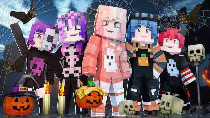 Halloween Teens on the Minecraft Marketplace by DogHouse