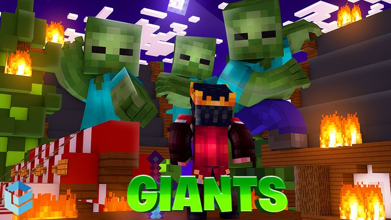 Giants on the Minecraft Marketplace by Entity Builds