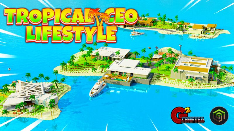 Tropical CEO Lifestyle on the Minecraft Marketplace by G2Crafted