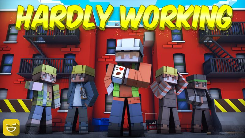Hardly Working on the Minecraft Marketplace by Giggle Block Studios