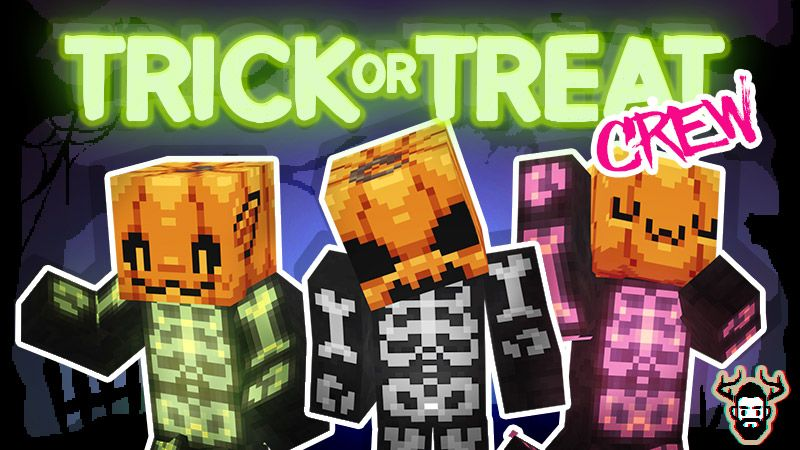 Trick Or Treat Crew on the Minecraft Marketplace by Mike Gaboury