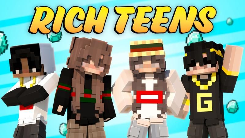 Rich Teens on the Minecraft Marketplace by Podcrash