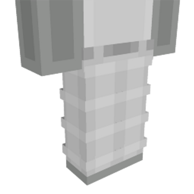 White Plaid Pants on the Minecraft Marketplace by Dig Down Studios