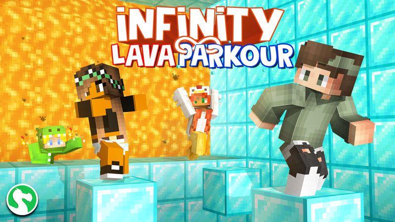 Infinity Lava Parkour on the Minecraft Marketplace by Dodo Studios