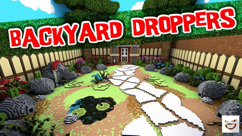 Backyard Droppers on the Minecraft Marketplace by Giggle Block Studios