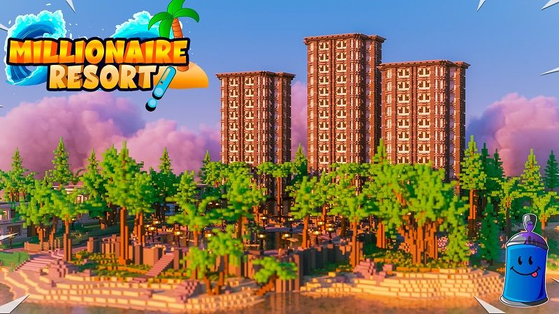 Millionaire Resort on the Minecraft Marketplace by 4KS Studios