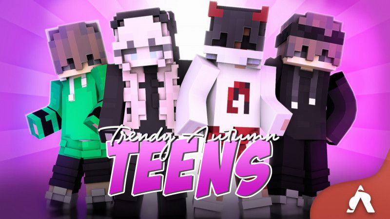 Trendy Autumn Teens on the Minecraft Marketplace by Atheris Games