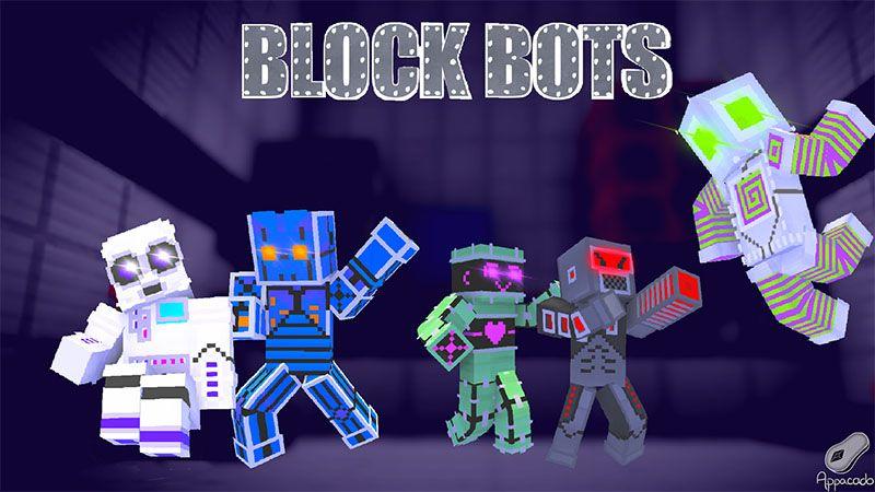 Block Bots on the Minecraft Marketplace by Appacado