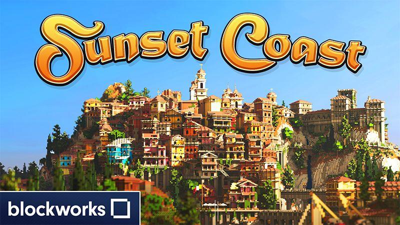 Sunset Coast on the Minecraft Marketplace by Blockworks