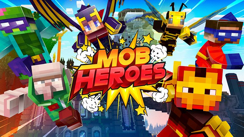 Mob Heroes on the Minecraft Marketplace by Spectral Studios