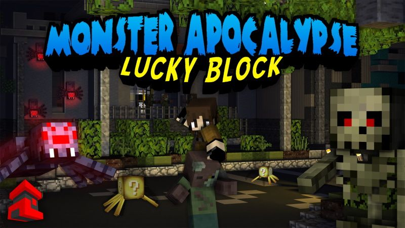 Monster Apocalypse Lucky Block on the Minecraft Marketplace by Project Moonboot