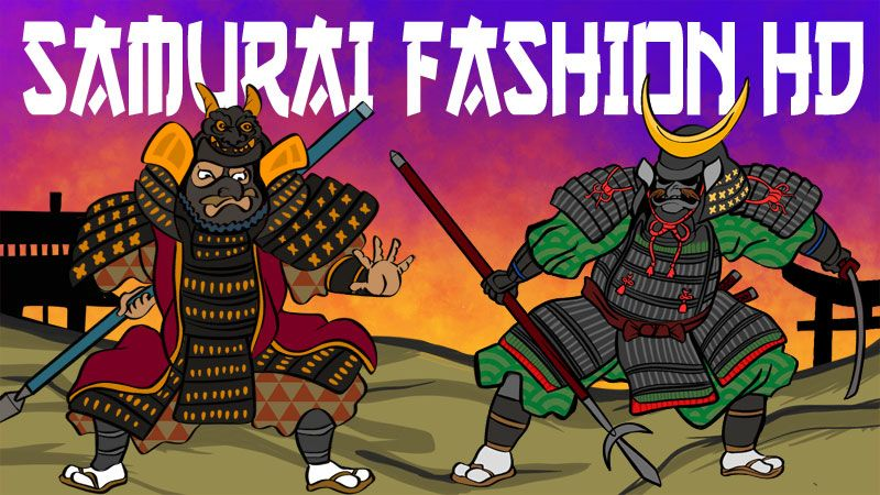 Samurai Fashion HD on the Minecraft Marketplace by BBB Studios