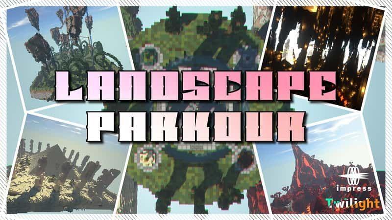 Landscape Parkour on the Minecraft Marketplace by Impress