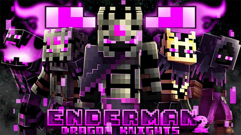 Enderman Dragon Knights 2 on the Minecraft Marketplace by Hourglass Studios