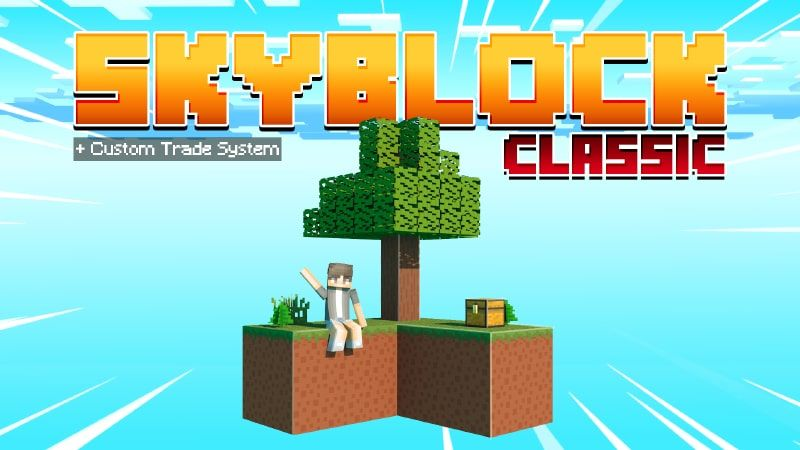 Classic Skyblock on the Minecraft Marketplace by Cypress Games