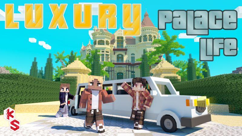 Luxury Palace Life on the Minecraft Marketplace by Kreatik Studios