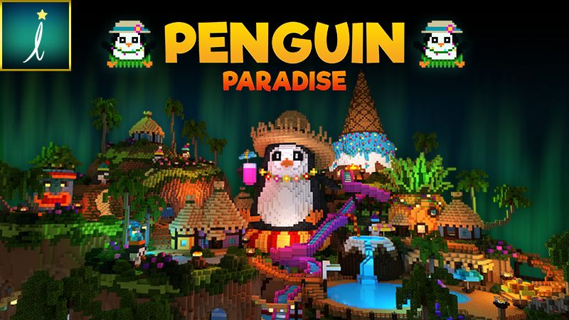 Penguin Paradise on the Minecraft Marketplace by Imagiverse