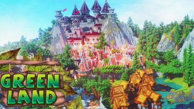 Green Land on the Minecraft Marketplace by Diluvian