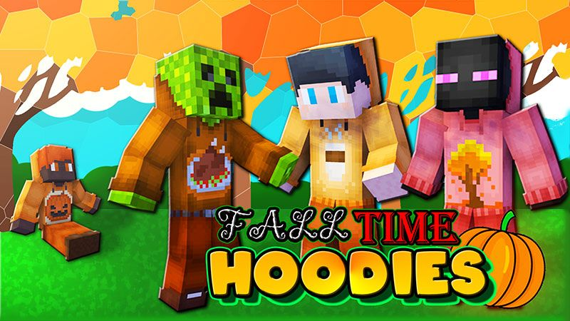 Fall Time Hoodies on the Minecraft Marketplace by The Lucky Petals