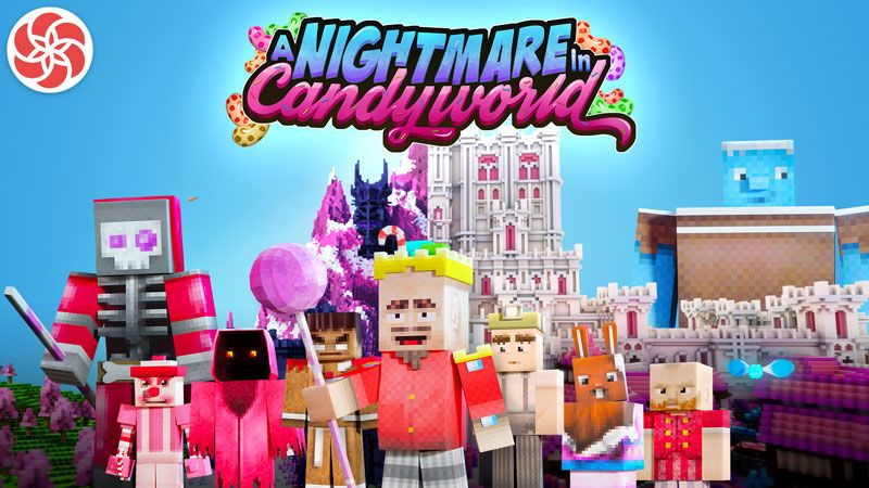 A Nightmare in Candyworld on the Minecraft Marketplace by Everbloom Games