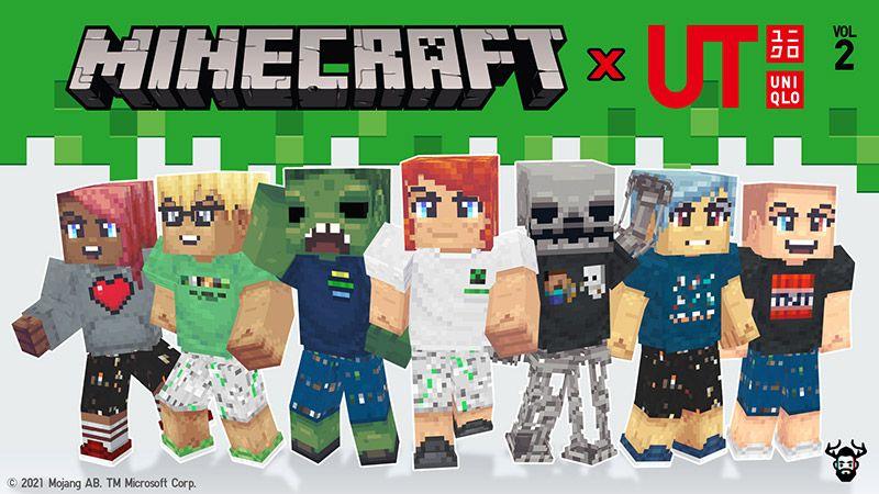 Minecraft x UNIQLO Skins Vol 2