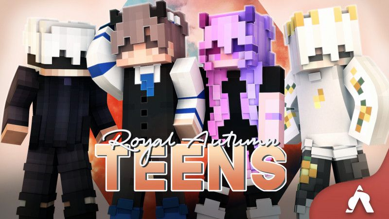 Royal Autumn Teens on the Minecraft Marketplace by Atheris Games