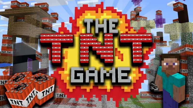 The TNT Game on the Minecraft Marketplace by Team Wooloo