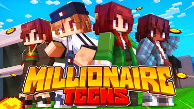 Millionaire Teens on the Minecraft Marketplace by Cynosia