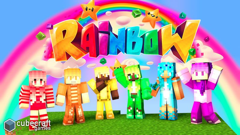 Rainbow on the Minecraft Marketplace by CubeCraft Games