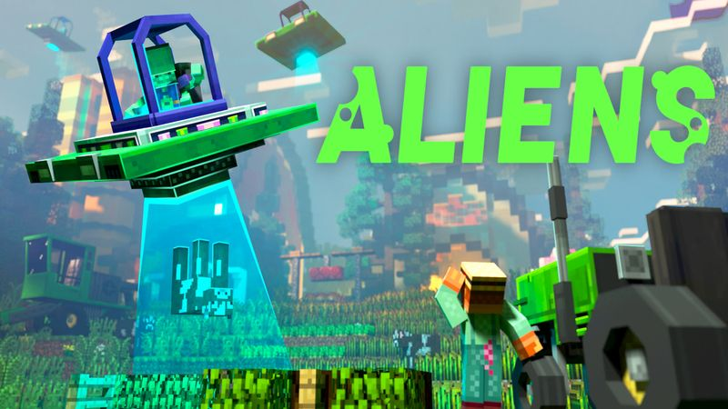 Aliens on the Minecraft Marketplace by Sapphire Studios