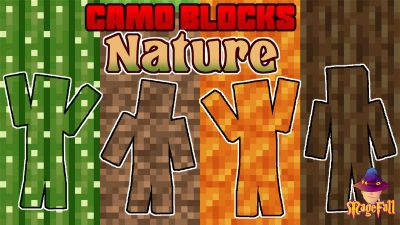 Camo Blocks Nature on the Minecraft Marketplace by Magefall