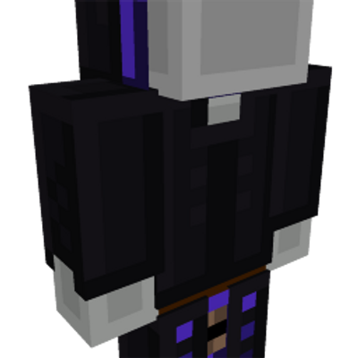 Void Member Robe on the Minecraft Marketplace by Gamemode One