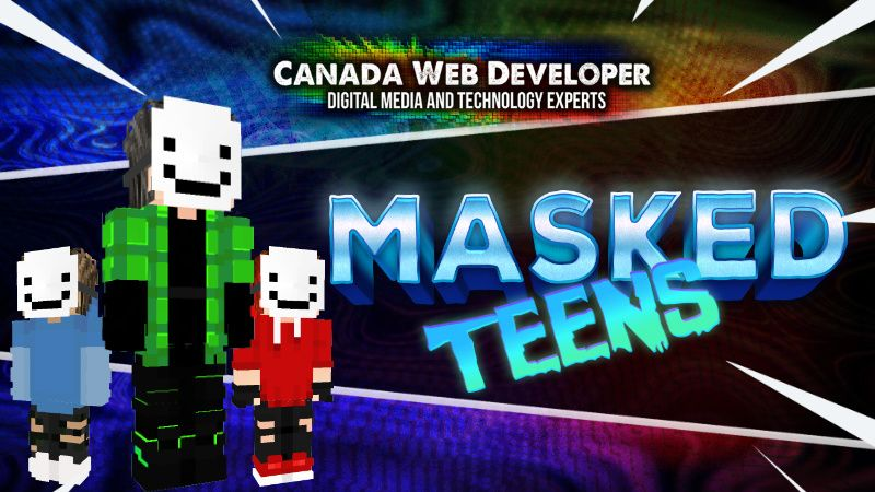 MASKED TEENS on the Minecraft Marketplace by CanadaWebDeveloper