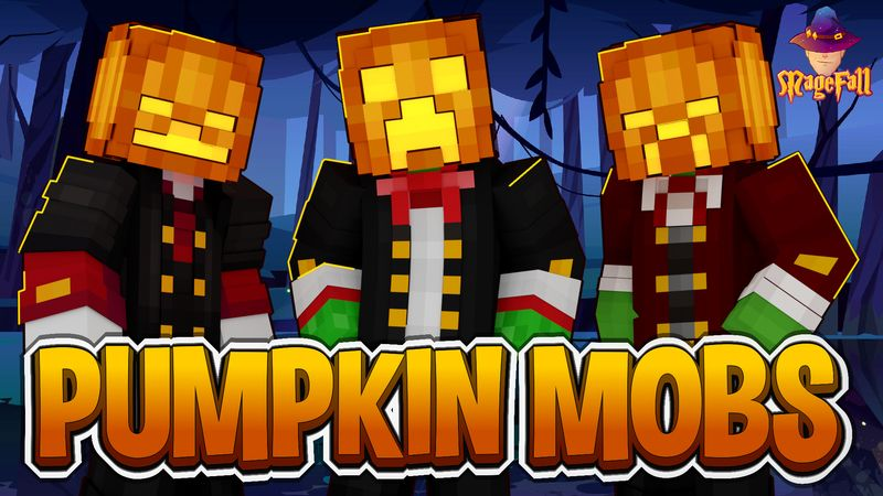 Pumpkin Mobs on the Minecraft Marketplace by Magefall
