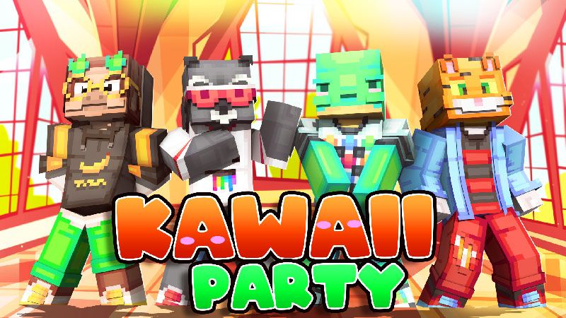 Kawaii Party on the Minecraft Marketplace by Dark Lab Creations