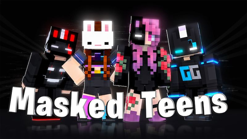 Masked Teens on the Minecraft Marketplace by DogHouse