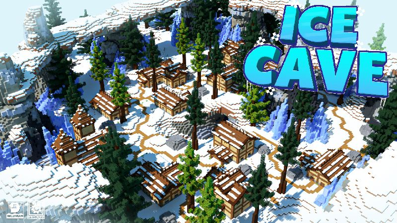 Ice Cave on the Minecraft Marketplace by Gearblocks